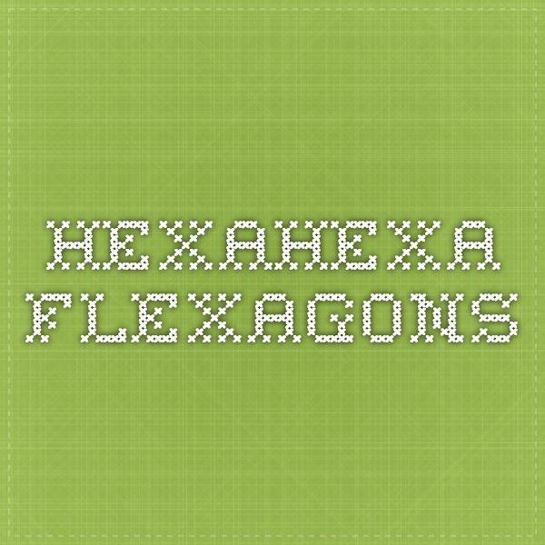 Pin 055jpg on pinterest for Hexahexaflexagon template