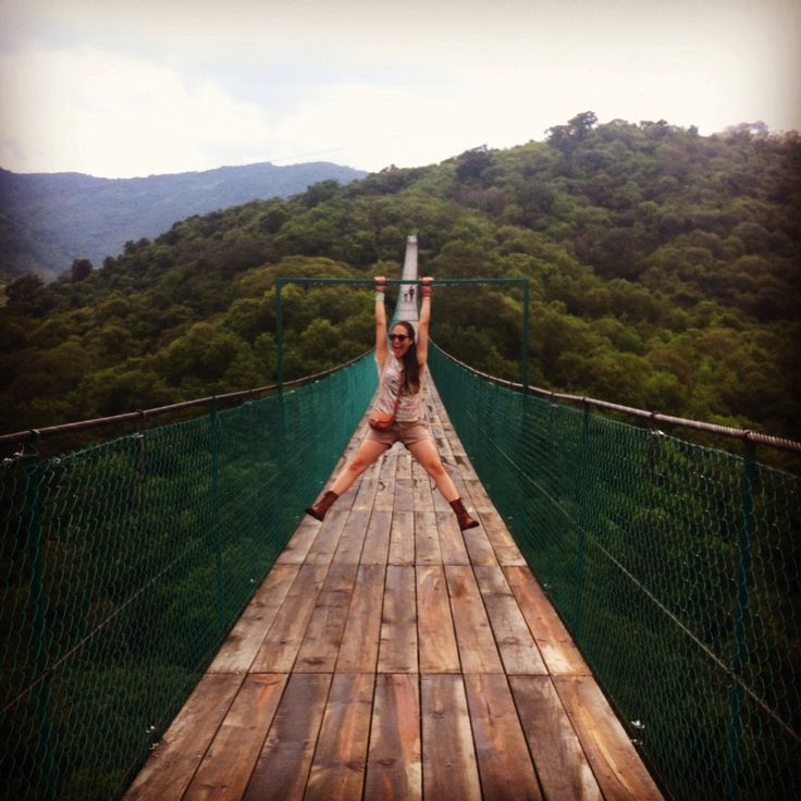 Adorable puente colgante en mazamitla Jalisco Facebook: Johana Orianka