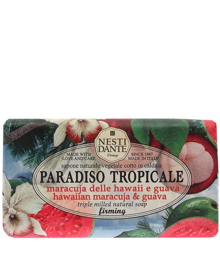 Nesti Dante Paradiso Tropicale Hawaiian Maracuja and Guava Soap  | Liberty.co.uk