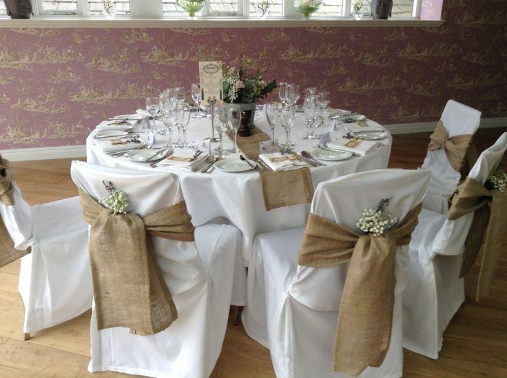Chair Covers Wedding, Burlap - Recherche Google