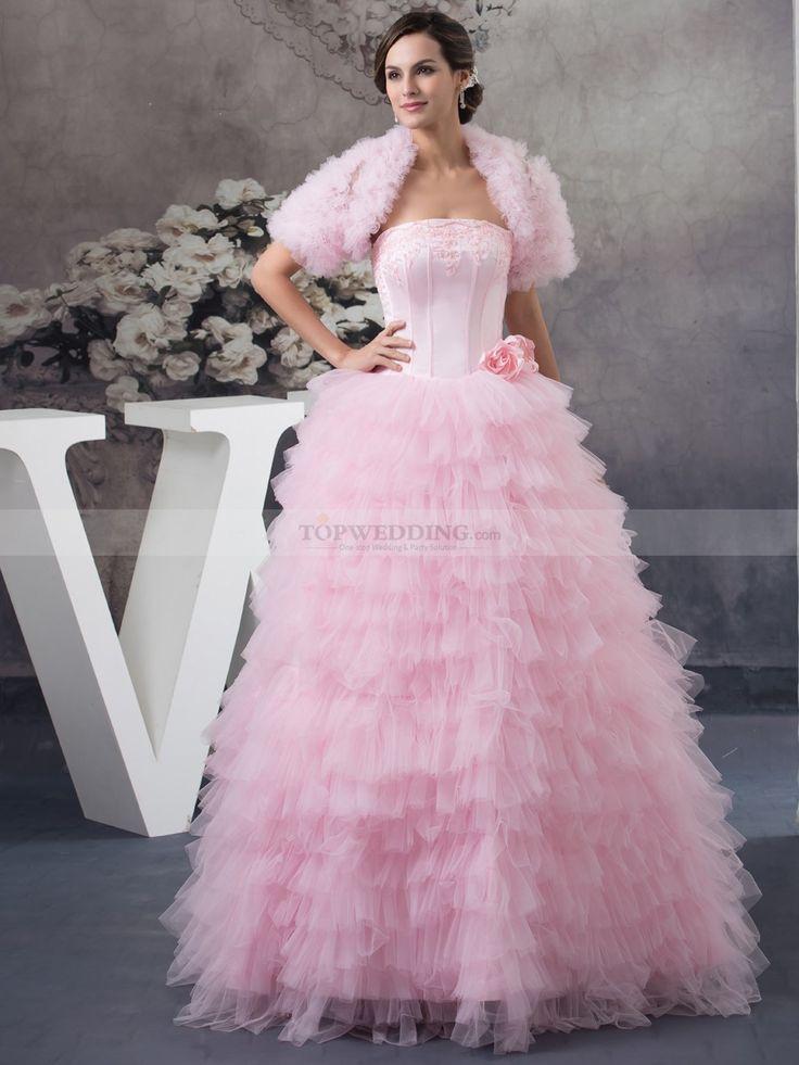 Mejores 41 imágenes de Gowns with Boleros en Pinterest   Vestidos de ...