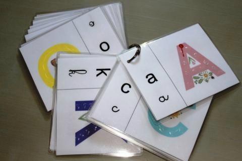 Découverte de l'écrit: les lettres à toucher