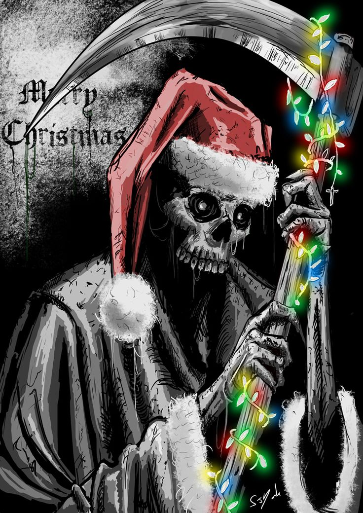 14 best A Dark Christmas ღ images on Pinterest | Black christmas ...