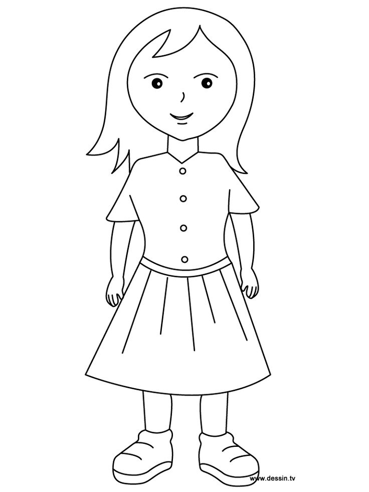girls free coloring pages - photo#26