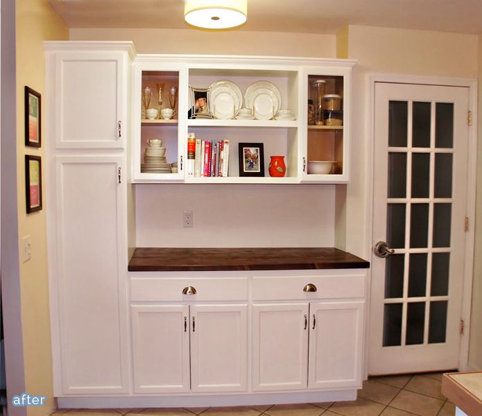 Adding Cabinets To A Wall To Add Function To Your Kitchen
