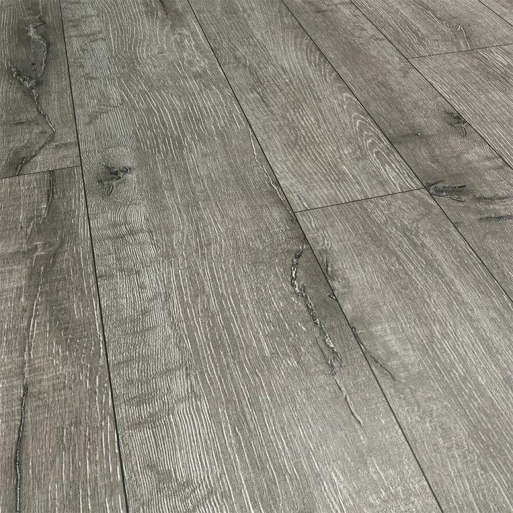 Laminate Flooring With Pad room landmark series random width chesapeake gray laminate attached pad Landmark Series 143mm Random Width Gray Dawn Hickory With Attached Pad Laminate Floor