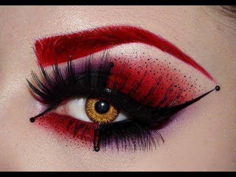 Muchas opciones para maquillaje de ojos en esta temporada de Halloween.
