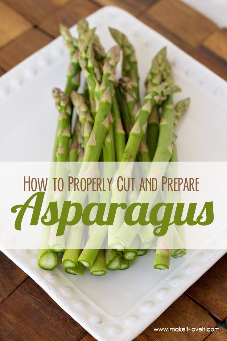 how to properly cook asparagus