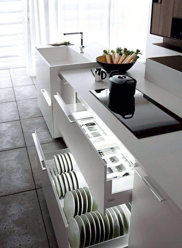 Kitchen storage!