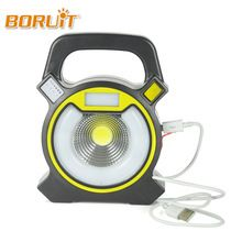 US $9.82 BORUIT LED ultrathin led flood light 15W Waterproof IP65 rechargeable portable Spotlight Floodlight lamp camping light Bule Red. Aliexpress product