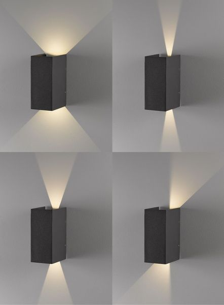Norma 2x3W LED vegglampe, lightup.no