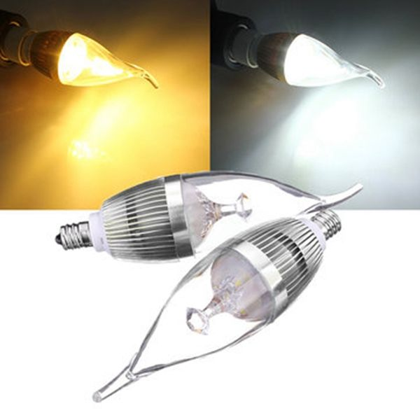E12 3w 300 330lm Led Chandelier Candle Light Bulb 85 265v Led Light Bulbs From Lights Lighting On Banggood Com Light Bulb Candle Candle Chandelier Led Chandelier