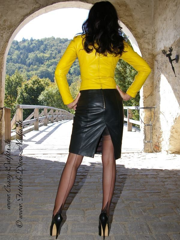 100 Best Images About Leather Skirts 2 On Pinterest Sexy