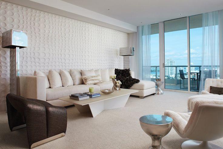 Miami Apartment by Fox-Nahem Associates