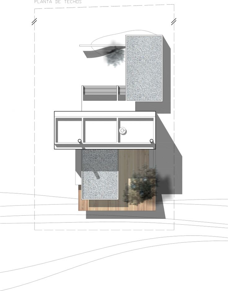 Gallery of lottersberger house estudio irigoyen navarro for Roof plan drawing