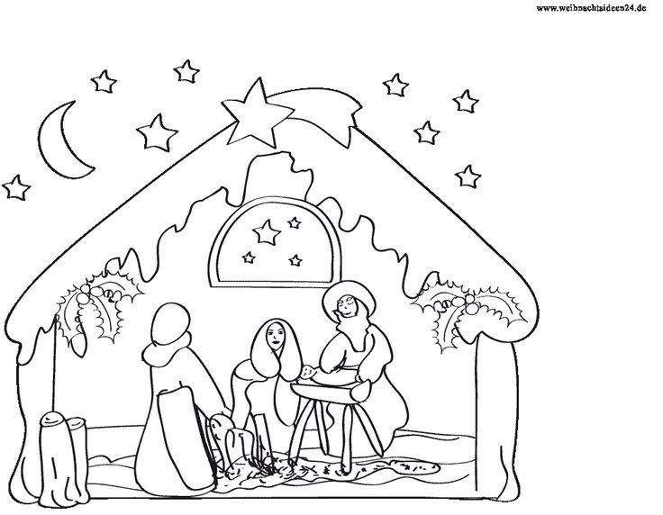Malvorlagen Weihnachten Kostenlos