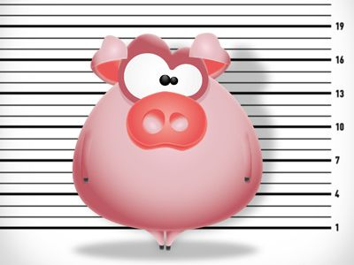Mr. Pig, the usual suspect | Animal Cartoon Characters ...