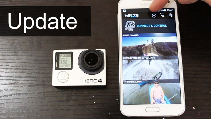 How to update GoPro HERO4 Firmware (February Release) - YouTube