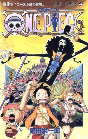 One Piece Manga Cover Vol 46