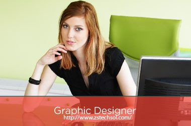 Graphic design is a creative work. It requires an efficient experienced and creative designer, who able to understand the client's requirement and also suggest them new design which match with their business: http://www.zstechsol.com/web-design.php