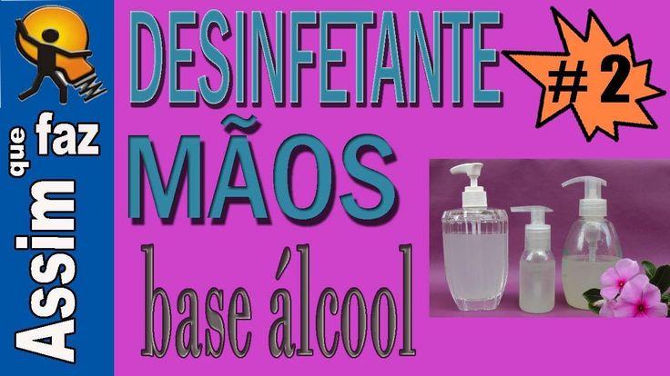 Desinfetante para as mãos a base de álcool