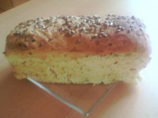 Cibulovo - česnekový chléb - bez lepku, mléka, vajec   Pro Alergiky