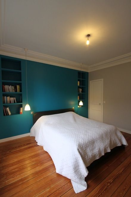 Maisons de ville extensions bois colombes chambre for Extension maison chambre