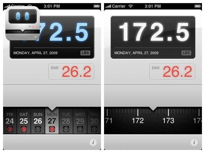 weight tracker app iphone