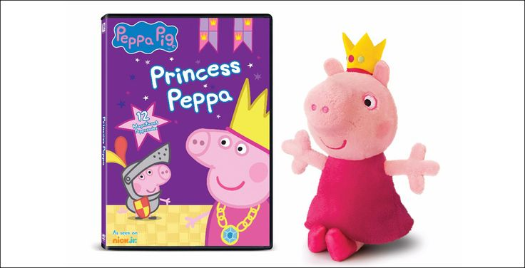 """Peppa Pig: Princess Peppa"" Arrives On DVD October 10 With Limited Edition Plush"