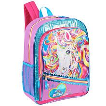 Lisa Frank 16 inch Magical Dreams Backpack - Purple and Pink