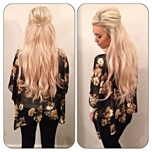In love with this hair style!