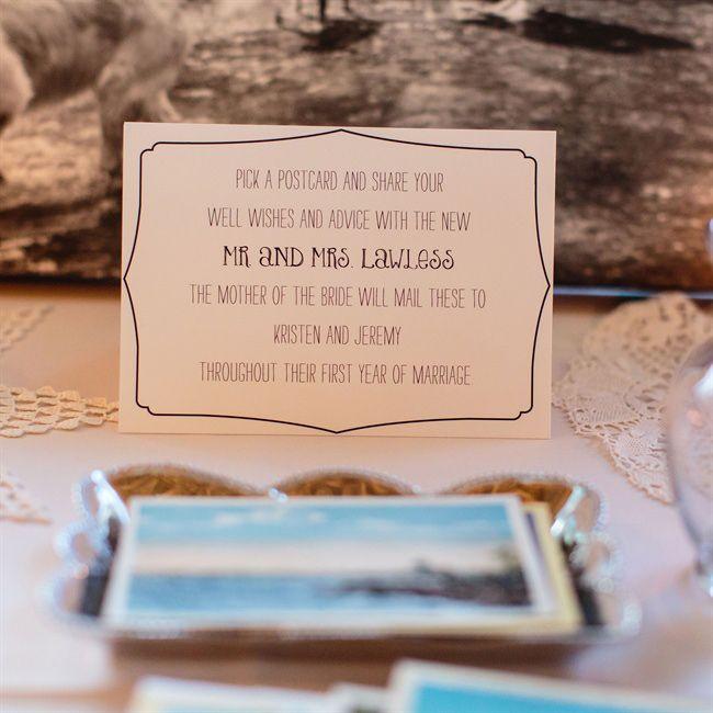 Best 25+ Postcard guestbook ideas on Pinterest Italian image - wedding postcard
