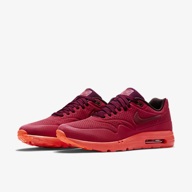 release date c6306 059a9 Fashion Nike Air Max 1 Ultra Moire 705297 600 Deep Burgundy Gym Red  University Red Nike