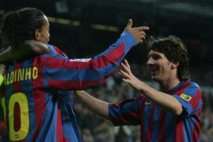 Amazing: La Masia kids recreate Leo Messis first goal for FC Barcelona (Video)