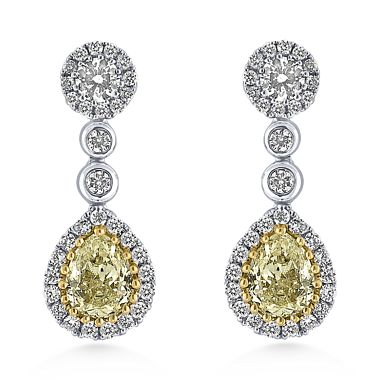 ALO diamond Madeline earings