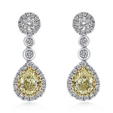 ALO diamond Madeline earings