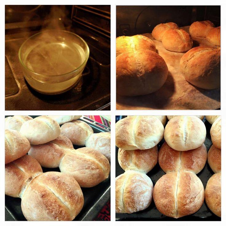 Pan Marraqueta o pan batido ! La mejor receta de pan chileno | Cocinar en casa es facilisimo.com