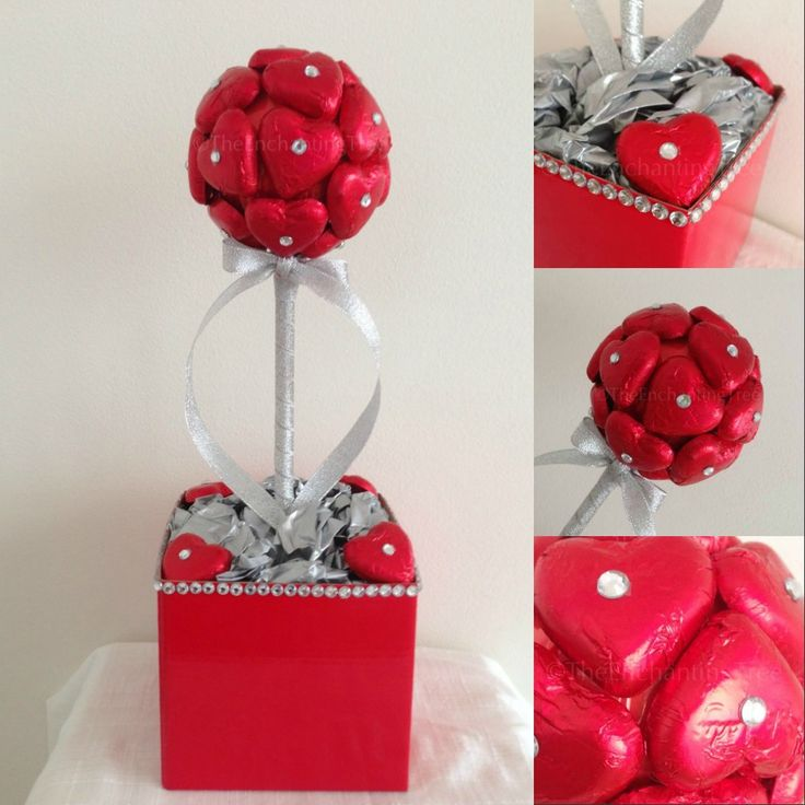 Red and bling.  This was a custom order for a wedding anniversary gift from husband to wife.