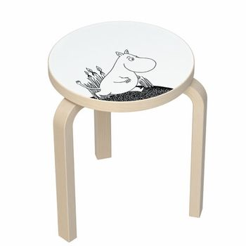 Moomintroll on the new Artek Moomin Stool 60 - $280