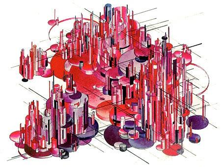 """Iakov Chernikhov's """"Architectural Fantasy"""" (1929)"""