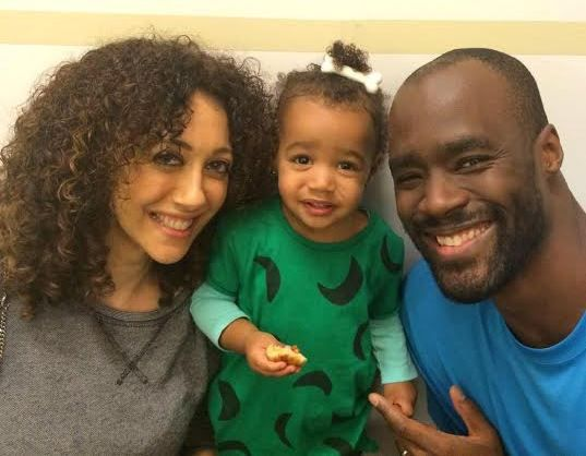 Nba Player, Emeka Okafor shows off his beautiful family - http://www.nollywoodfreaks.com/nba-player-emeka-okafor-shows-off-his-beautiful-family/
