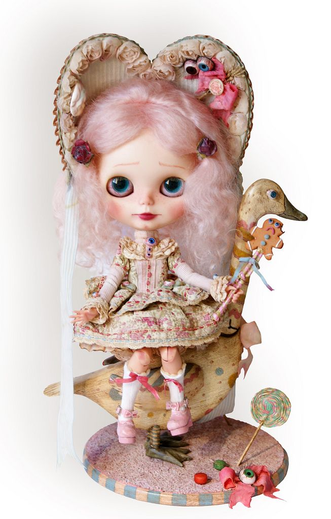 https://flic.kr/p/ffWVJ8 | La petite ogresse Prudence et son oie Casilda | Rebeca Cano - Cookie dolls © All rights reserved