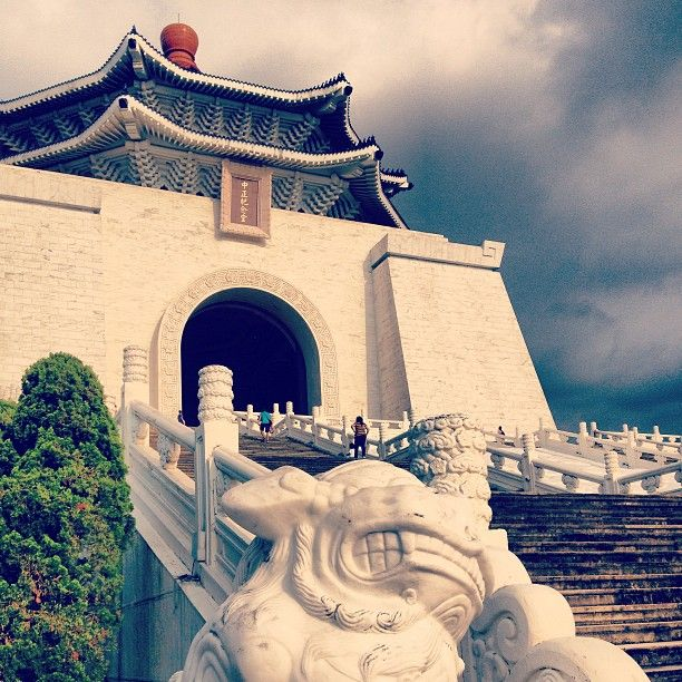 Chiang Kai-Shek Memorial Hall in #Taipei. Photo courtesy of kkinhnl on Instagram. #architecture #Taiwan
