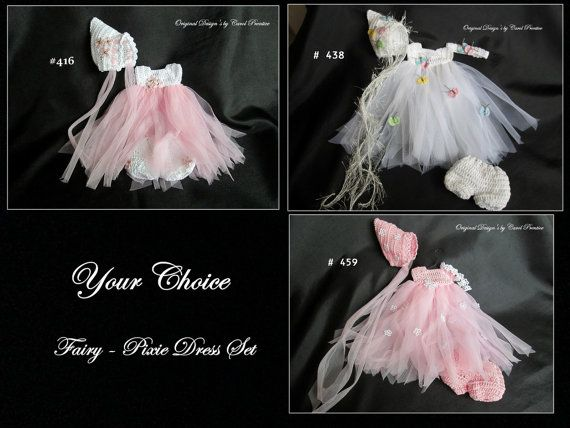 7-8 Inch YOUR CHOICE - WHIMSICAL Dress Set ~ Original Design's by WishBerry Ooaks
