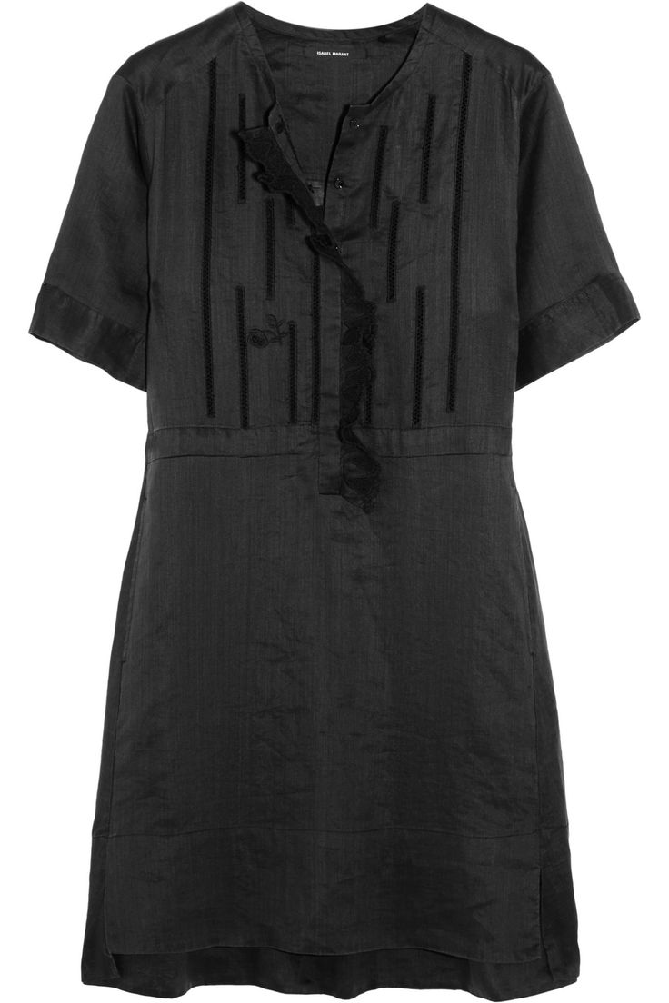 Ariana ruffled broderie anglaise ramie mini dress   ISABEL MARANT   Sale up to 70% off   THE OUTNET