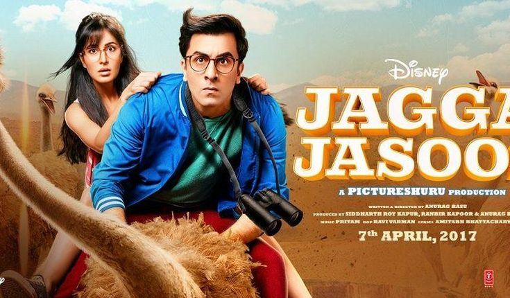 Jagga Jasoos (English: Detective Jagga) is an upcoming 2017 Indian musical adventure romantic comedy film written and directed by Anurag Basu, and produced by Basu and Ranbir Kapoor. The film features Ranbir Kapoor, Katrina Kaif and Adah Sharma in lead roles, and tells the story of a teenage detective in search of his missing father. The film is scheduled to be released on 14 July 2017.  Download Bollywood Movies
