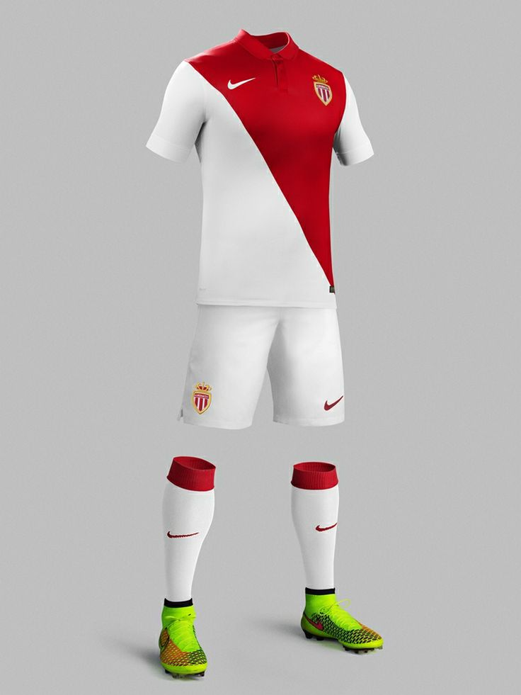 AS Monaco 2014-15 Nike Home
