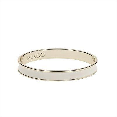 Bracelets & Bangles in Gold, Silver, Leather | Mimco - Narrow Enamel Bangle