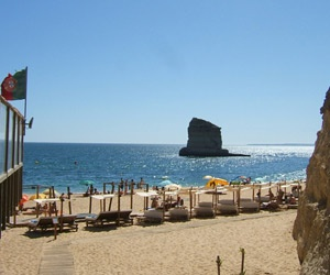 Caneiros Beach - Praia dos Caneiros in Ferragudo