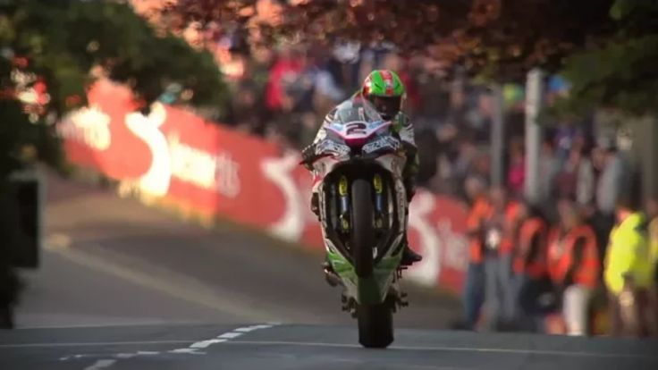 James Hillier at the ISLE of MAN TT